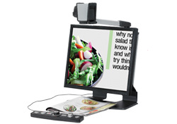 SmartView 360 video magnifier