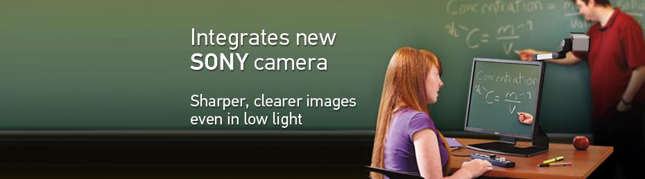 SmartView 360 - Integrates new SONY camera, sharper, clearer images, even in low light