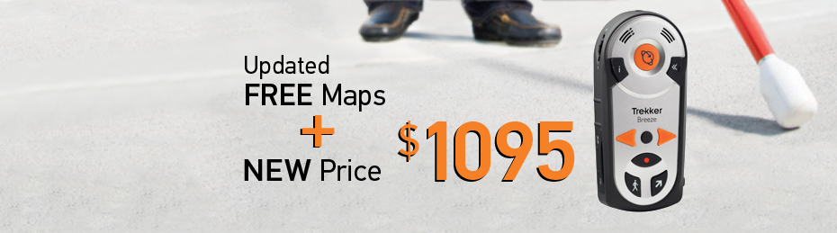 Trekker Breeze with Free Maps new price: 1095 AUD