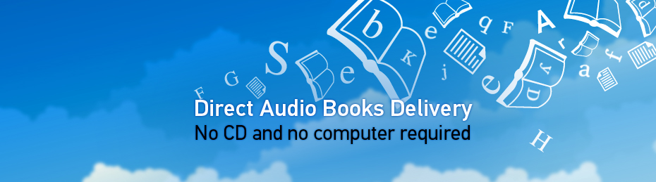 Victor Reader - Direct Audio Books Delivery - No CD and no computer required