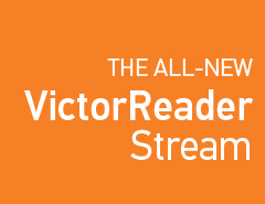 The all-new Victor Reader Stream