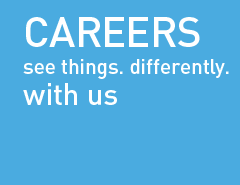 Careers: See things. Differently. with us.