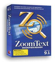 Picture of a ZoomText Box