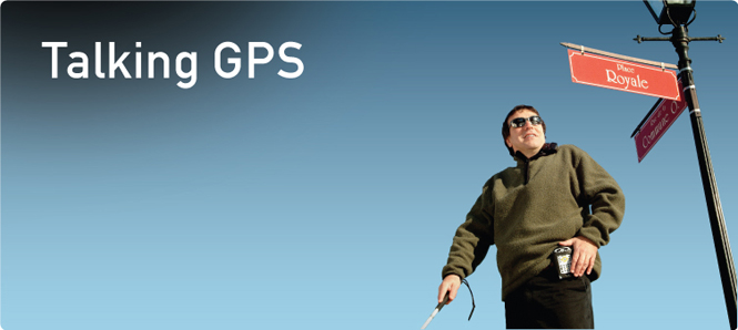 Talking GPS